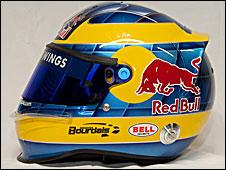 Sebastien Bourdais' 2009 helmet