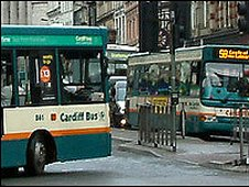 Cardiff buses