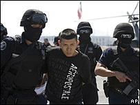 Miembro de los Zetas detenido por la policía