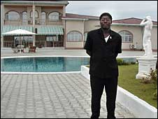 Teodorin Obiang has a luxurious lifestyle
