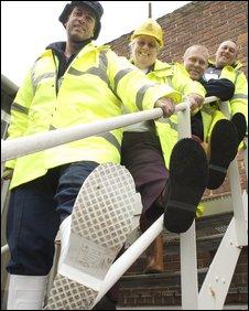 Non-slip boot wearers