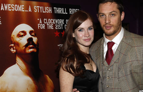 Juliet Oldfield and Tom Hardy