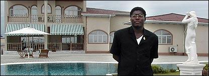 Hijo del presidente de Guinea Ecuatorial