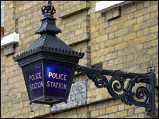 Police sign (generic)