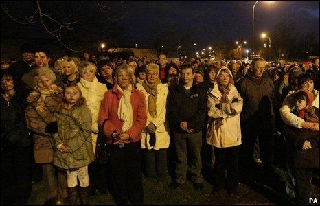 Craigavon vigil