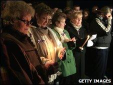 Vigil in Craigavon