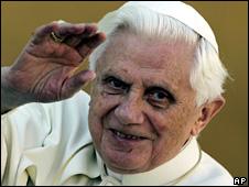 Pope Benedict XVI (11 March 2009)