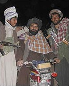 Taleban fighters inZabul