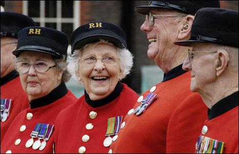 Chelsea pensioners