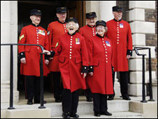First female Chelsea Pensioners