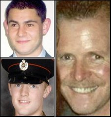 Northern Ireland's three shooting victims