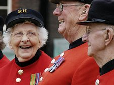 One of the first female Chelsea Pensioners