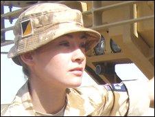 Lieutenant Amii Calway - _45561252_rafpluslogistics016