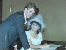 The couple would have been married 25 years next year