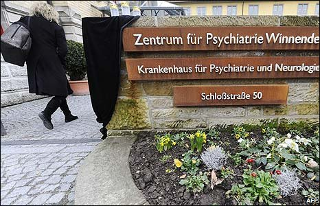 Psychiatric clinic in Winnenden, Germany