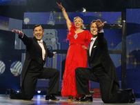 Deborah Meaden, Peter Jones and Duncan Bannatyne from Dragons' Den