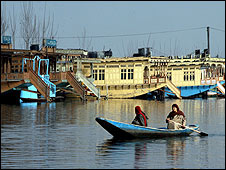 Houseboats in Srinagar