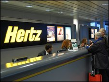 bbc news business hertz eyes carmaker co operation. Black Bedroom Furniture Sets. Home Design Ideas