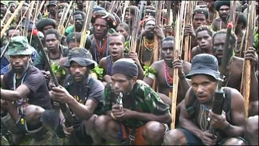 Papua's freedom fighters