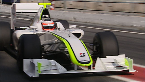 Report - Brawn GP catch the eye in Barcelona