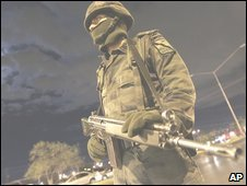 A Mexican soldier
