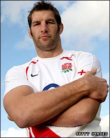England lock Simon Shaw