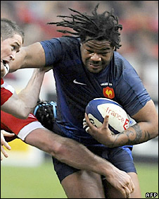 France centre Mathieu Bastareaud