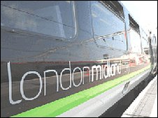 London Midland train