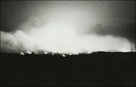 Clydebank ablaze