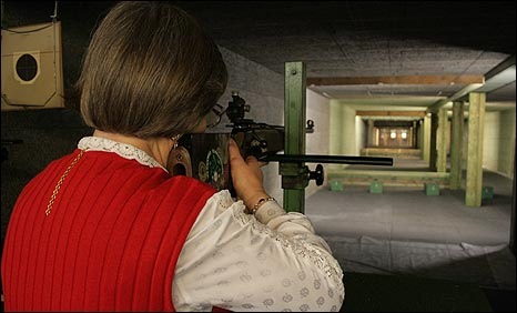 German shooting club member Ilse Ringelmann