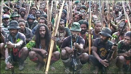 Papua independence fighters