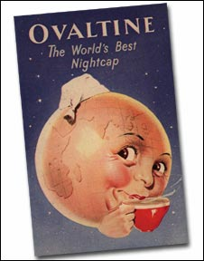 Ovaltine poster from  1953