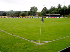 Cefn Druid's Plas Kynaston Lane's ground
