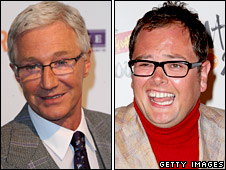 Paul O'Grady and Alan Carr