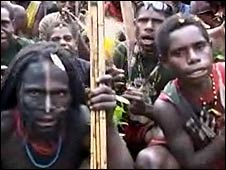 Papuan rebel fighters