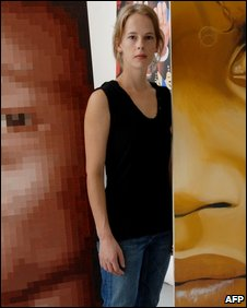 Canadian nurse Laura Archer � one of three MSF employees abducted in Darfur � pictured in Montreal in August 2008