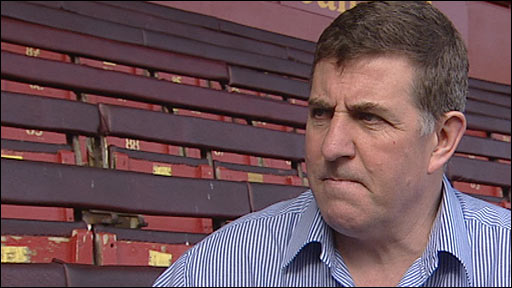 Motherwell manager Mark McGhee