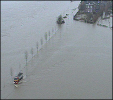Flooded land (Image: TVE)
