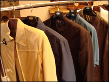 Mr Caballero's range of clothes