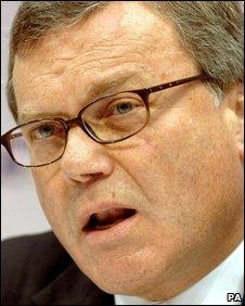 Sir Martin Sorrell, chief executive, WPP