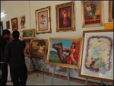 Art and crafts fair in Kabul to mark International Women's Day