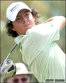 Rory McIlroy in action in Florida