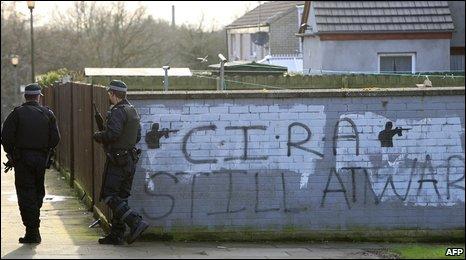 Continuity IRA grafitti