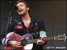 Coldplay frontman Chris Martin - 14/3/2009