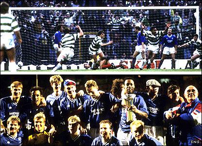 Rangers 2-1 Celtic 1 (aet)