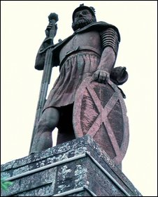 Statue of Wallace in Stirling