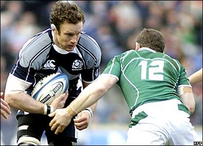 Jason White, Scotland; Gordon D'Arcy, Ireland