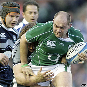 Rory Best, Ireland; Ross Ford, Scotland