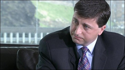 International development secretary Douglas Alexander