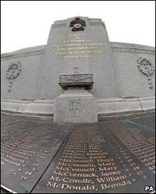 Clydebank memorial